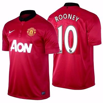 Nike Rooney Manchester United Home Jersey 2013/14 532837-624