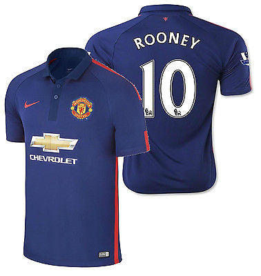 NIKE W. ROONEY MANCHESTER UNITED THIRD JERSEY 2014/15