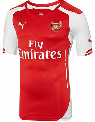PUMA ARSENAL AUTHENTIC PLAYERS MATCH HOME JERSEY 2014/15.