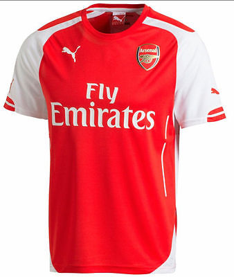 PUMA ARSENAL HOME JERSEY 2014/15.