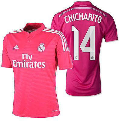 ADIDAS CHICHARITO REAL MADRID AWAY JERSEY 2014/15.