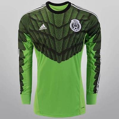 ADIDAS MEXICO GOALKEEPER HOME JERSEY 2015/16.