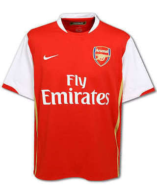 NIKE ARSENAL HOME JERSEY 2006/08