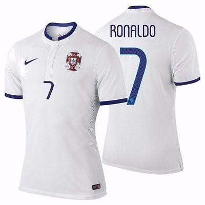 NIKE CRISTIANO RONALDO PORTUGAL AUTHENTIC AWAY JERSEY FIFA WORLD CUP BRAZIL 2014