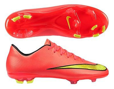 NIKE MERCURIAL VICTORY V CR7 FG JR FIRM GROUND SOCCER SHOES KIDS Punch