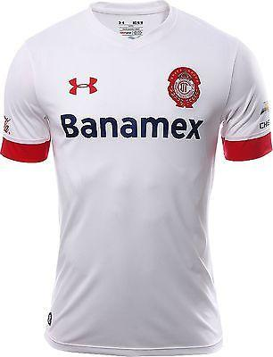 UA UNDER ARMOUR CLUB DEPORTIVO TOLUCA AWAY JERSEY 2015/16 1