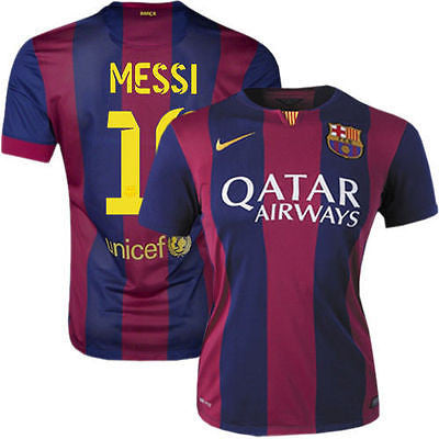NIKE L. MESSI FC BARCELONA WOMENS HOME JERSEY 2014/15