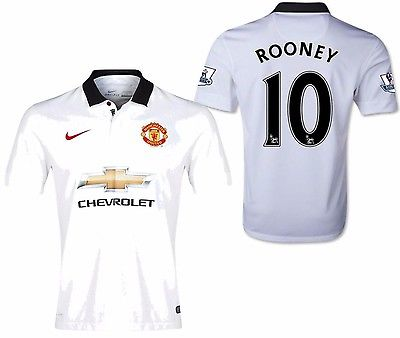NIKE WAYNE ROONEY MANCHESTER UNITED AWAY JERSEY 2014/15.