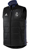 ADIDAS REAL MADRID TRAINING PADDED VEST Black/Super Purple.