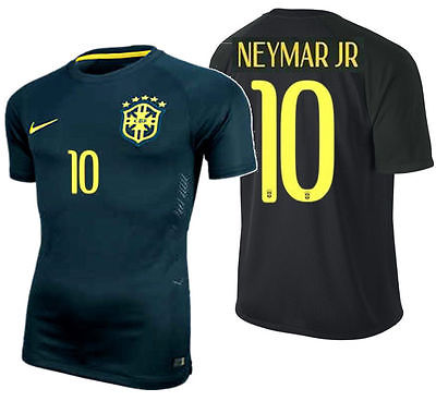 NIKE NEYMAR JR BRAZIL AUTHENTIC THIRD MATCH JERSEY FIFA WORLD CUP BRASIL 2014.
