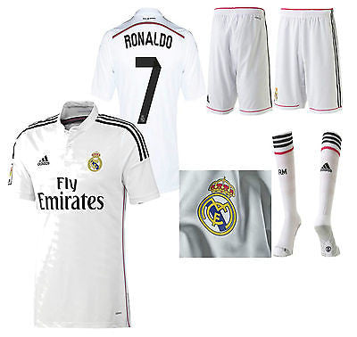 ADIDAS CRISTIANO RONALDO REAL MADRID AUTHENTIC HOME ADIZERO KIT 2014/15 LIMITED EDITION