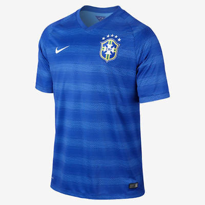 NIKE BRAZIL AWAY JERSEY FIFA WORLD CUP BRASIL 2014.