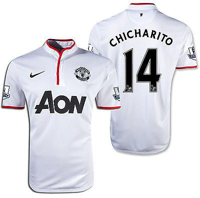 NIKE CHICHARITO MANCHESTER UNITED AWAY JERSEY 2012/13