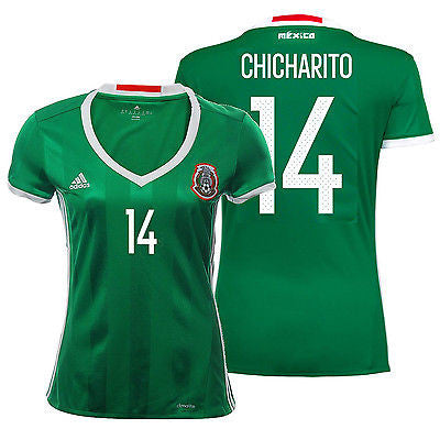 ADIDAS CHICHARITO MEXICO WOMEN'S HOME JERSEY 2015/16.