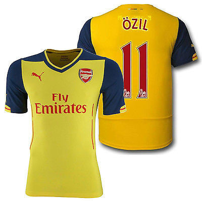 PUMA MESUT OZIL ARSENAL AWAY JERSEY 2014/15