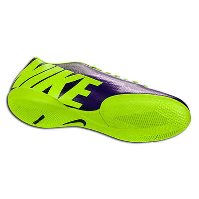 brand new 9f3f0 70d51 ... NIKE MERCURIAL VICTORY IV IC INDOOR SOCCER SHOES FOOTBALL Electro  Purple Volt Bl ...