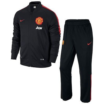 NIKE MANCHESTER UNITED SQUAD SIDELINE KNIT WARM UP TRACKSUIT 2014/15.