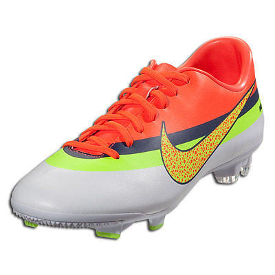 NIKE MERCURIAL VICTORY IV CR FG FIRM GROUND SOCCER SHOE FOOTBALL White/Total Cr