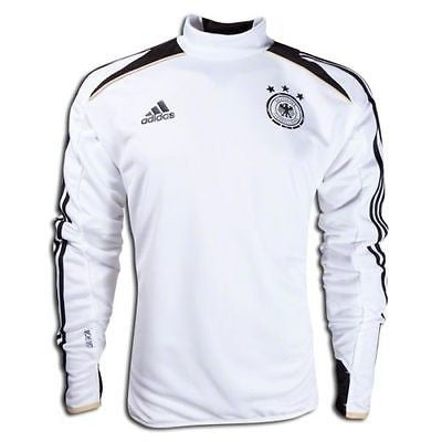 ADIDAS GERMANY TRAINING TOP White/Black.