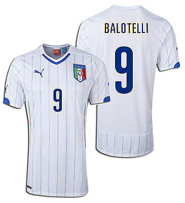 PUMA MARIO BALOTELLI ITALY AWAY JERSEY FIFA WORLD CUP 2014 1