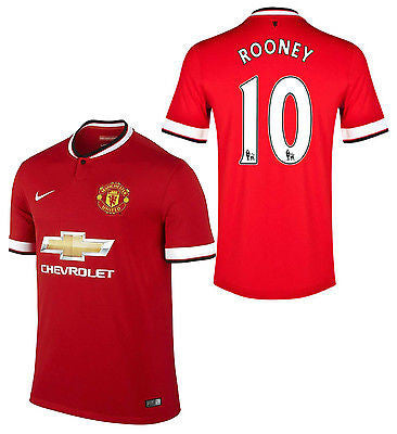 NIKE W. ROONEY MANCHESTER UNITED HOME JERSEY 2014/15