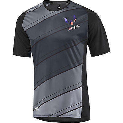 ADIDAS ADIZERO F50 MESSI TRAINING JERSEY Black/Lead.