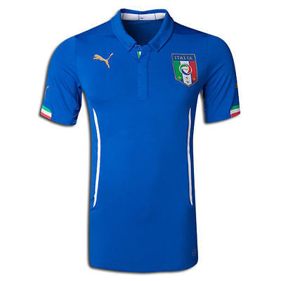 PUMA ITALY HOME JERSEY FIFA WORLD CUP BRAZIL 2014.