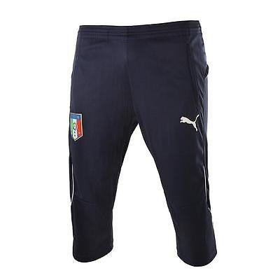 PUMA ITALY 3/4 TRAINING PANTS Navy/White.