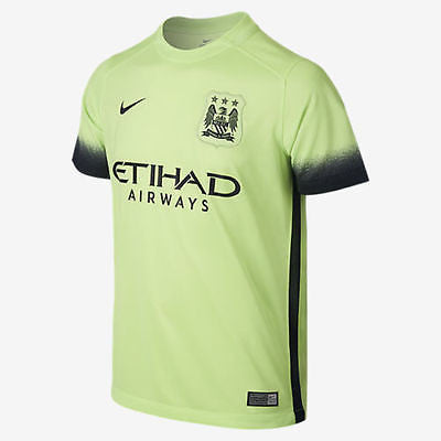 NIKE MANCHESTER CITY YOUTH THIRD JERSEY 2015/16