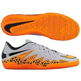 NIKE HYPERVENOM PHELON II IC INDOOR SOCCER SHOES Wolf Grey/Black/Total Orange