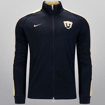 NIKE PUMAS UNAM AUTHENTIC N98 JACKET Navy/Gold.