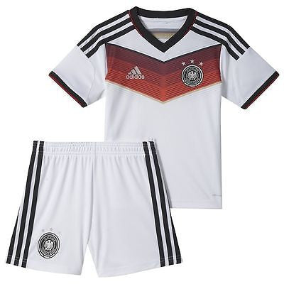 ADIDAS GERMANY MINI KIT FIFA WORLD CUP BRAZIL 2014 TODDLER