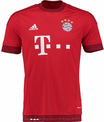 ADIDAS BAYERN MUNICH YOUTH HOME JERSEY 2015/16