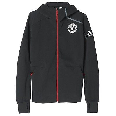 ADIDAS MANCHESTER UNITED ANTHEM Z.N.E. HOODIE Black/Red.