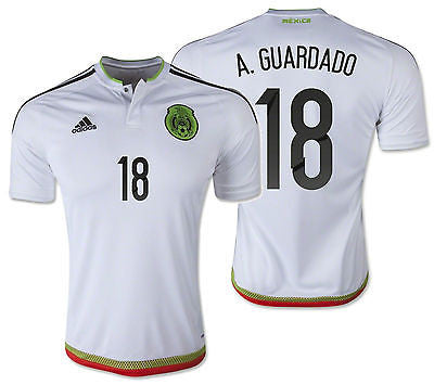 ADIDAS A. GUARDADO MEXICO AWAY JERSEY 2015/16