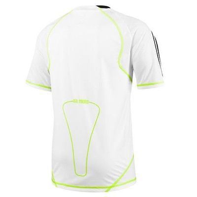 new styles 82325 d9ced ADIDAS REAL MADRID TRAINING JERSEY White/Slime