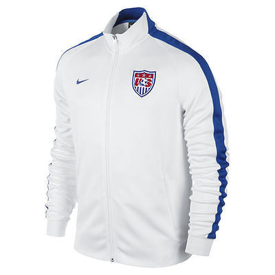 NIKE USA AUTHENTIC N98 JACKET White/Blue.