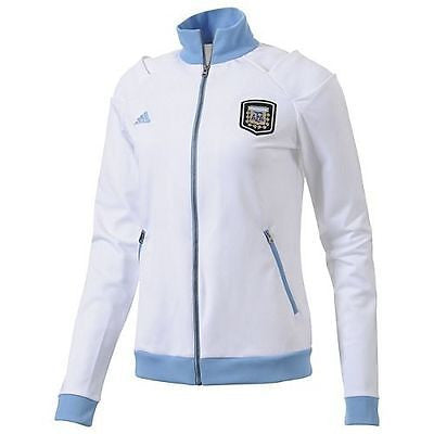 ADIDAS ARGENTINA WOMENS TRACK TOP JACKET