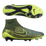 NIKE MAGISTA OBRA FG FIRM GROUND SOCCER SHOES Dark Citron/Black/Black/Volt