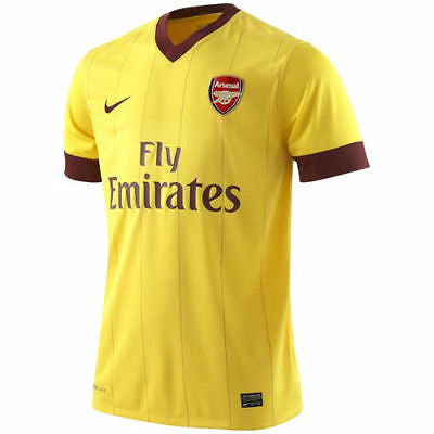 NIKE ARSENAL AWAY JERSEY FOOTBALL 2010/11
