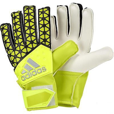 ADIDAS ACE JUNIOR GLOVES Solar Yellow/Semi Solar Yellow/Black