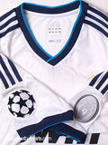 ADIDAS SERGIO RAMOS REAL MADRID UEFA CHAMPIONS LEAGUE HOME JERSEY 2012/13.