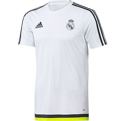 ADIDAS REAL MADRID TRAINING JERSEY White.