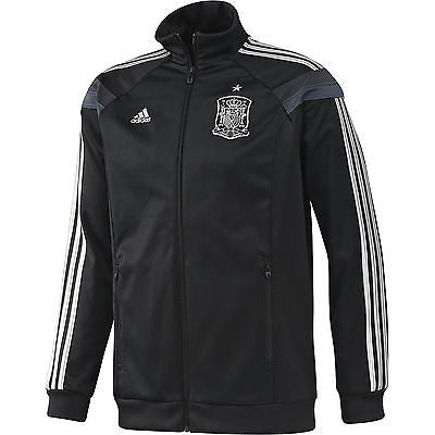 ADIDAS SPAIN ANTHEM TRACK JACKET FIFA WORLD CUP BRAZIL 2014 Black.