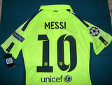 NIKE LIONEL MESSI FC BARCELONA UEFA CHAMPIONS LEAGUE AUTHENTIC MATCH THIRD  JERSEY 2014/15 3