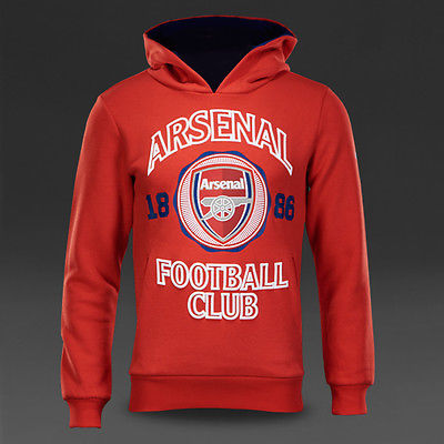 PUMA ARSENAL FAN HOODIE Red/White.