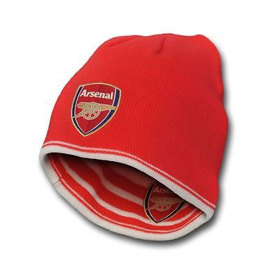 PUMA ARSENAL REVERSIBLE PERFORMANCE BEANIE RED/WHITE.