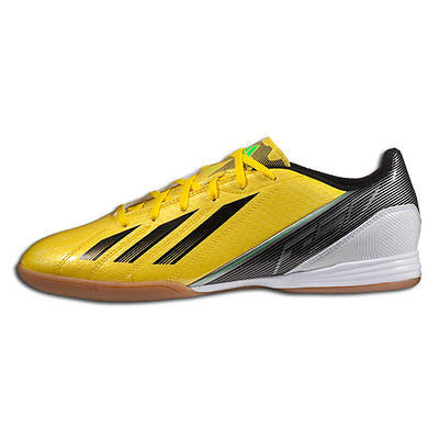 d5e485ccc ... ADIDAS F10 IN INDOOR FUTSAL SOCCER SHOES Vivid Yellow Black ...
