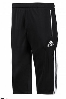 ADIDAS CONDIVO 12 3/4 TRAINING SOCCER PANTS YOUTH SIZES Black/White.