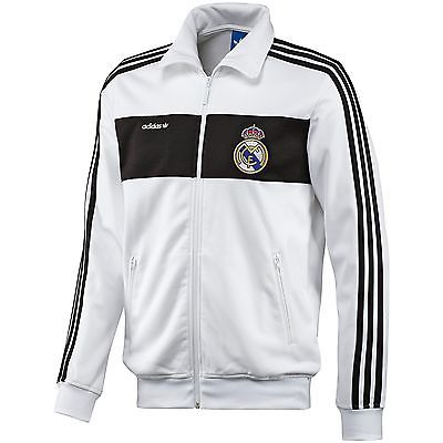 ADIDAS ORIGINALS REAL MADRID BECKENBAUER JACKET White/Black.
